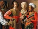 Georges de la Tour, Ghicitoare în palmă